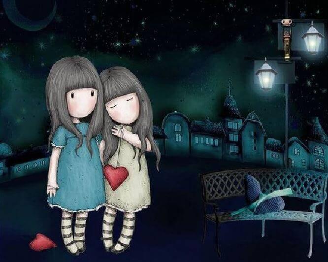 Freundschaft verdoppelt die Freude und halbiert unsere Angst