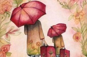 Menschen wertschätzen - Mutter und Tochter gehen ihren Weg