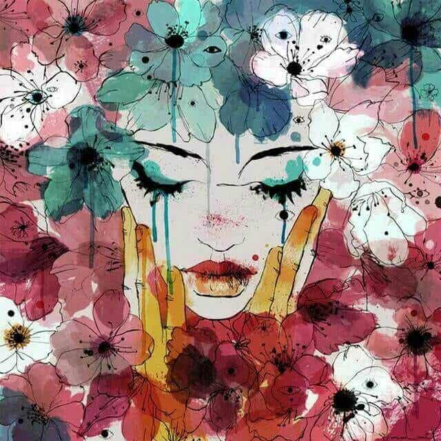 Unsere Tränen lassen unsere Wunden heilen