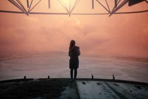 Die Angst, alleine zu sein