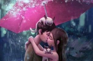Wer dich wirklich liebt, küsst dich, als gäbe es kein Morgen.
