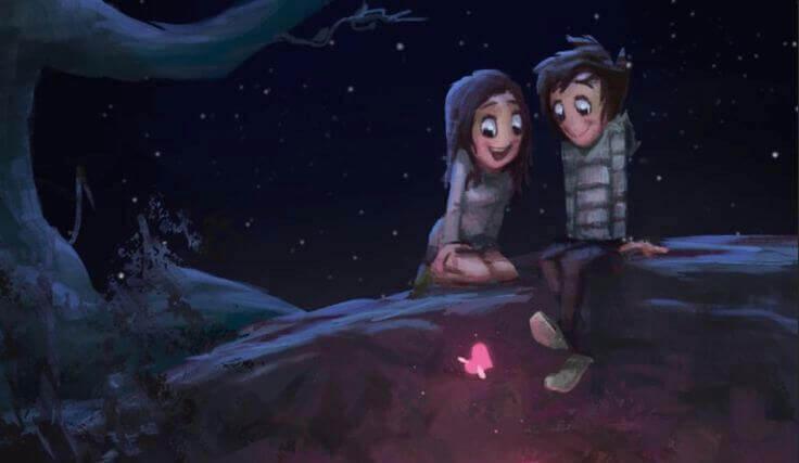 Wer dich wirklich liebt, entdeckt die Welt mit dir neu.