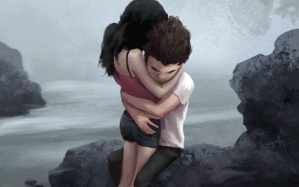 Wer dich wirklich liebt, hält dich fest.