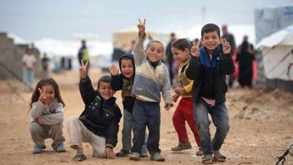Flüchtlingskinder: Gebrochene Herzen auf der Suche nach Hoffnung
