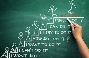Treppe des Erfolgs