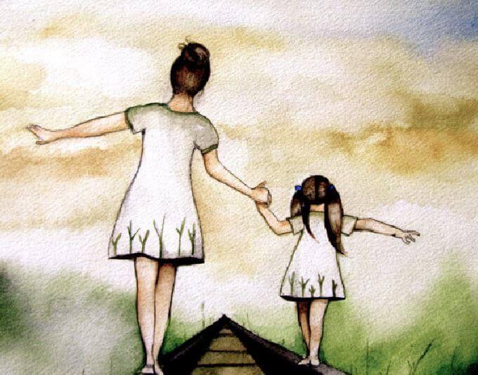 Eine liebevolle Erziehung ebnet den Weg für ein glückliches Leben