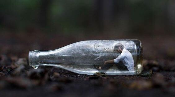 mann-in-flasche