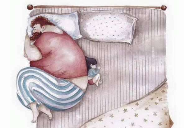 Wenn ein Vater sein Kind verlässt, hinterlässt das eine tiefe Spur