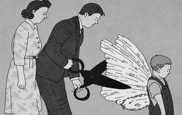 Kinder anlügen heißt, ihnen die Flügel zu stutzen