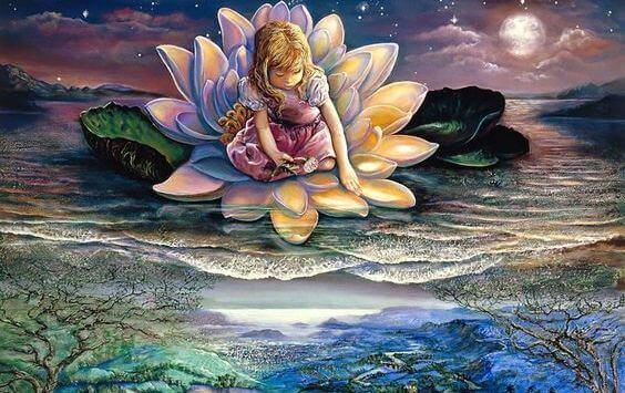 Sei wie die Lotusblume: Erblühe jeden Tag aufs Neue und sei schmutzabweisend