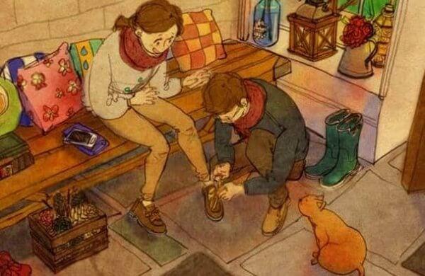 Jemanden mit Zuneigung zu behandeln heißt, seine Seele mit Respekt zu berühren