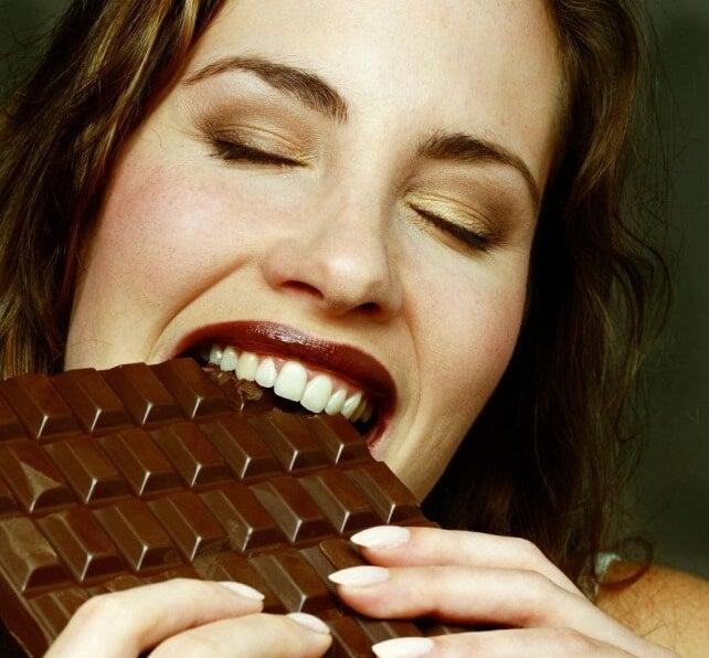 schokoladelust durch das belohungssystem