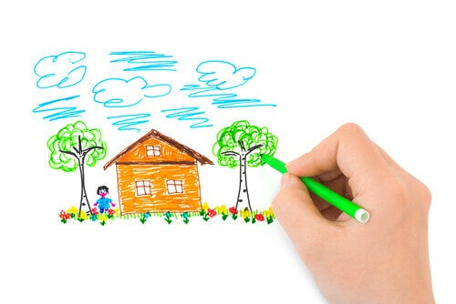 Haus, Baum, Person (house, tree, person – HTP): Ein Persönlichkeitstest