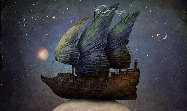 Auch wenn sich die Windrichtung ändert, bringt mich mein Segelschiff dennoch zu dir