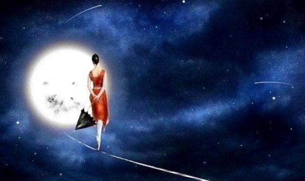 Wir sind ebenso vergänglich wie eine Sternschnuppe - und genauso schön