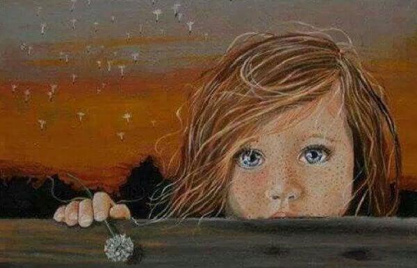 Depression in der Kindheit: die Tränen eines Kindes sind Kugeln mitten ins Herz