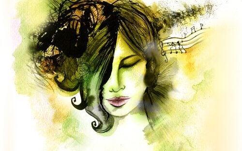 Sie drehte die Musik auf, um für eine Weile ihr Leben leise zu stellen