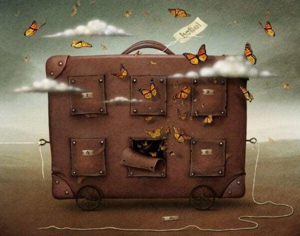 Dein Gepäck wird schwerer, je mehr Bindungen du hast