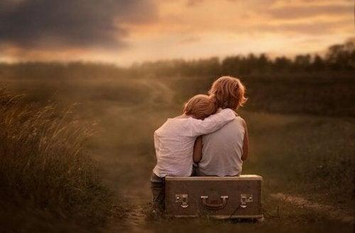 Von Kindern emotional unreifer Eltern: eine verlorene Kindheit