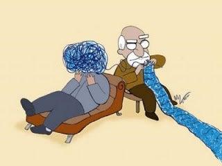 Bloß weil du zu einem Psychologen gehst, bist du noch lange nicht verrückt