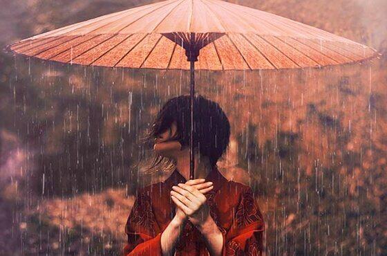 Die japanische Kunst der Akzeptanz: die Verwundbarkeit umarmen