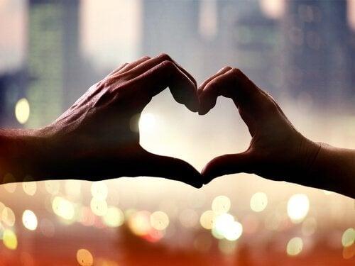 Nichts bekommt einem Menschen besser als Liebe