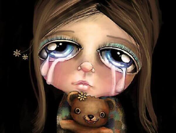 """Sage niemals """"weine nicht"""" zu einem Kind"""
