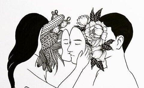 Masken sind stille Beziehungskiller