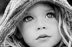 Mit den Augen sprechen - Kinderaugen sind besonders ehrlich