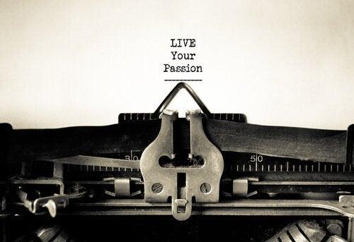 Du bist der Autor der Kapitel deines Lebens. Live your passion.