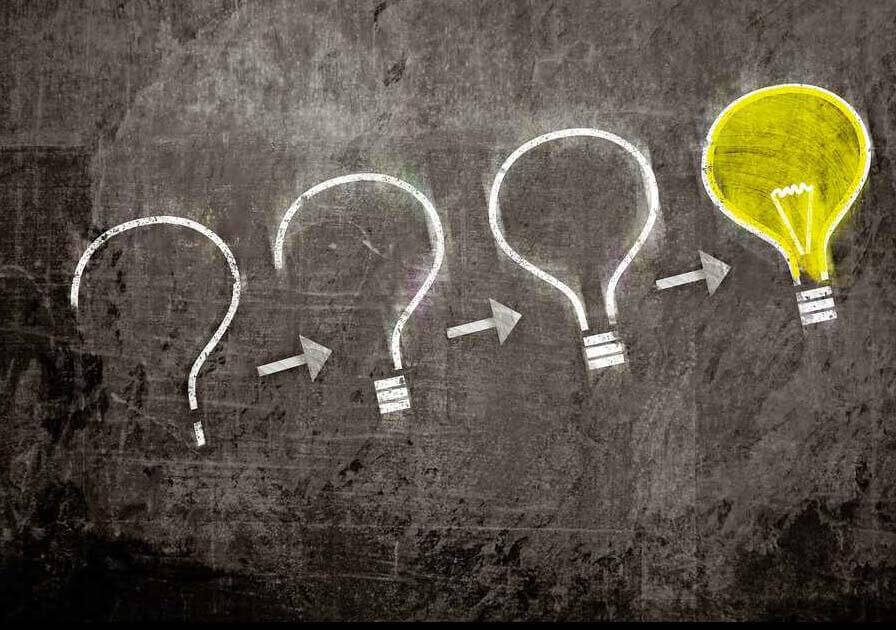 Negative Gedanken in positive verwandeln - wie aus einem Problem eine Idee wird