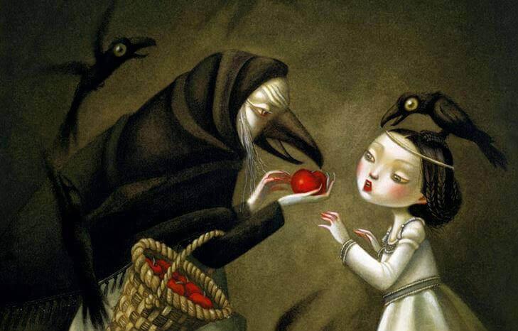 Toxische Menschen in unserem Leben - Schneewittchen und die böse Hexe