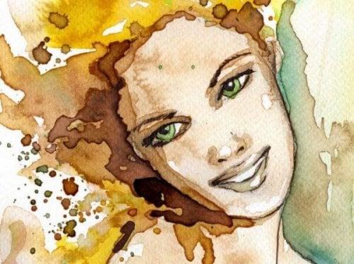 Jeden Tag lachen - Lächelnde Frau