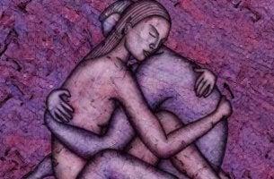 Intimität herstellen - intime Umarmung
