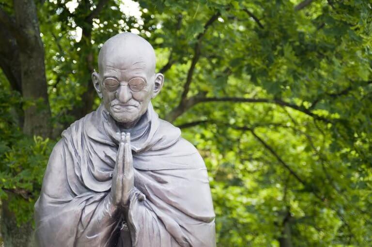 Statue Mahatma Gandhis