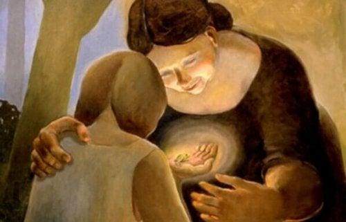 Freundlichkeit ist ein Geschenk, das es sich zu teilen lohnt