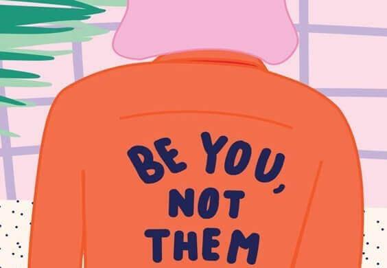 Sei du selbst, nicht die anderen