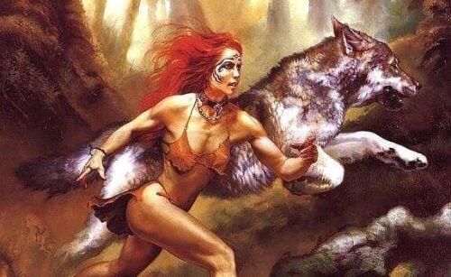 In jeder Frau steckt ein Wolf