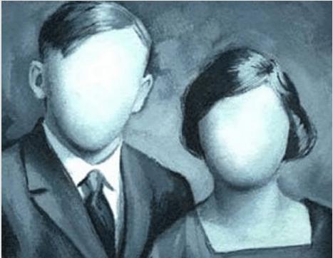 Menschen ohne Gesicht