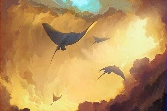 Fliegende Drachen