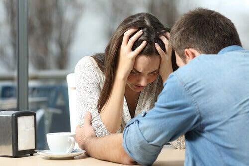Streitgespräch eines Paares