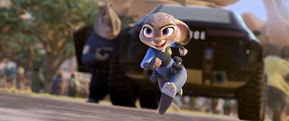 Judy Hopps als Polizistin
