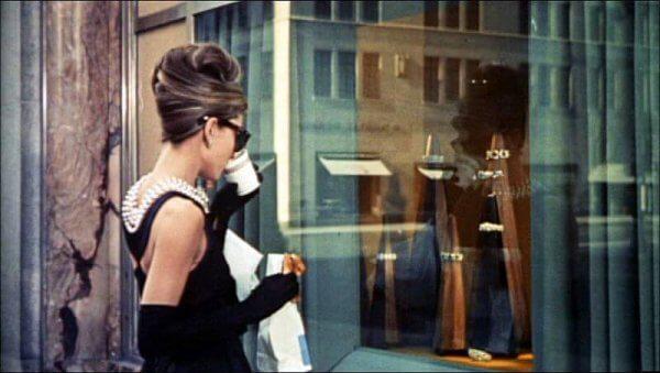 Audrey Hepburn in Frühstück bei Tiffany