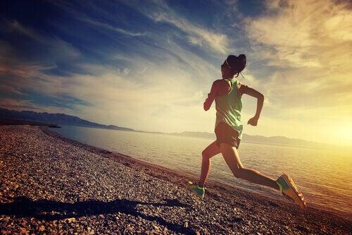 Durch Laufen einen guten Start in den Morgen garantieren