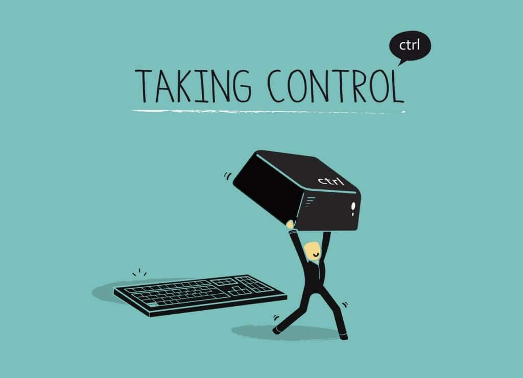 Die Kontrolle übernehmen