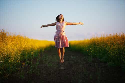 Glücklich zu sein bedeutet nicht unbedingt, die Beste zu sein