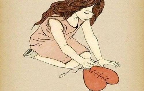 Eine zweite Chance - Mädchen, das ihr Herz flickt