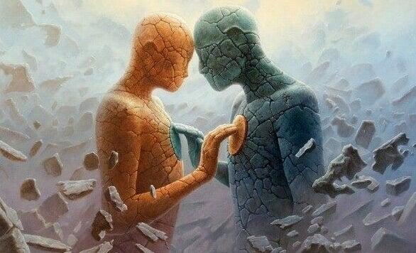 Die Psychologie der Verbindung: die Kunst, sich mit bestimmten Menschen von Herz zu Herz zu verbinden