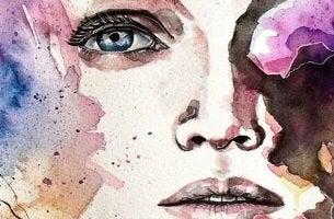 Linderung depressiver Symptome - Zeichnung einer depressiven Frau