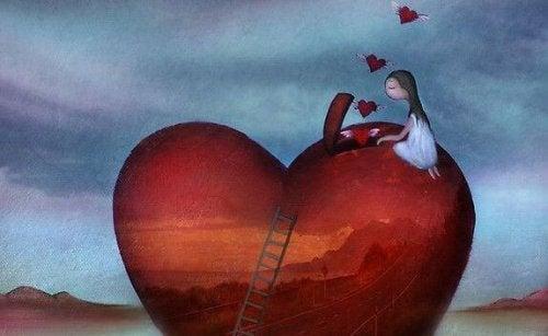 Geöffnetes Herz